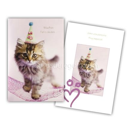 Felicitación de Cumpleaños musical de rachaelhale gato Minnie