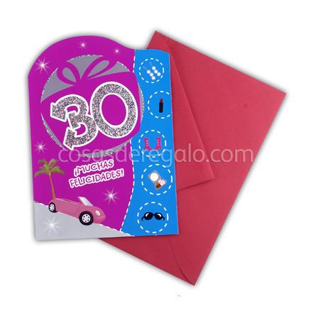 Felicitación de Cumpleaños de los 30