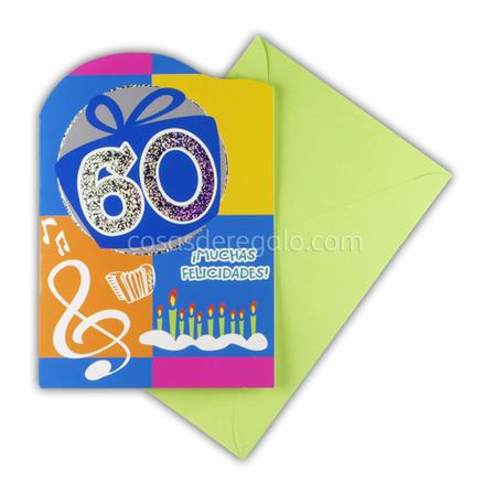Felicitación de Cumpleaños de los 60