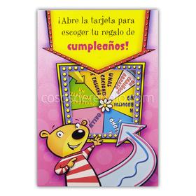Felicitación de cumpleaños POP-UP Ruleta