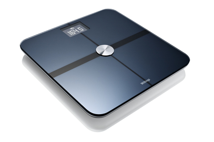 Báscula de baño Withings compatible con iPhone