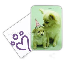 Felicitación de cumpleaños perros Emma y Grace