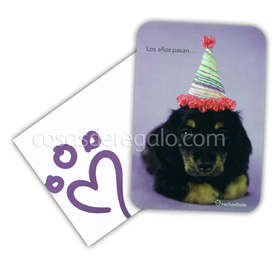 Felicitación de cumpleaños de rachaelhale perro Luka