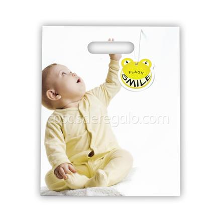 Bolsa de regalo bebé cogido de la mano Flash Smile