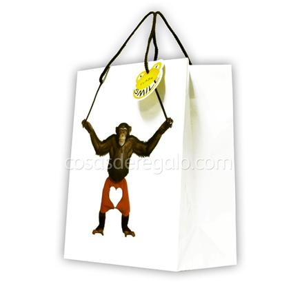 Bolsa de regalo de un mono flash smile - Bolsas para flash ...