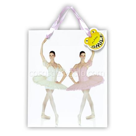 Bolsa de regalo de dos bailarinas Flash Smile