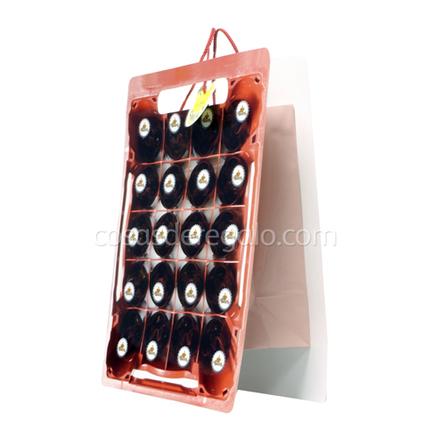 Bolsa de regalo caja de cerveza flash smile - Bolsas para flash ...
