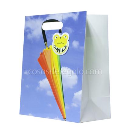 Bolsa de regalo de un paraguas Flash Smile