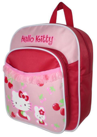 Mochila roja de la Hello Kitty