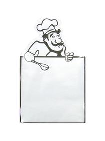 Bloc notas Chef magnético