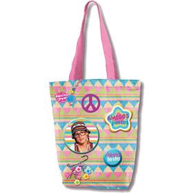 Bolso shopping colores Populares- Patito Feo- 31x30 cm