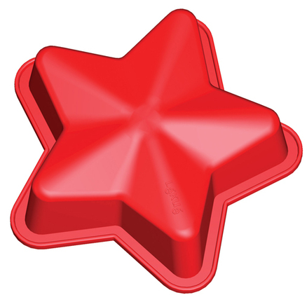 Molde con forma de estrella 1500 ml