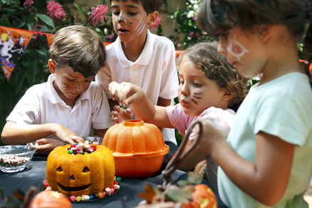 Molde Halloween con forma de calabaza 3D 17, 5 cm