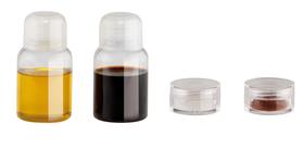 Set de condimentos (aceite, vinagre, pimienta y sal) de PE y PVC