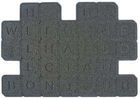 Felpudo Scrabble de caucho