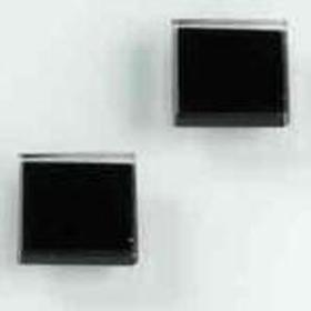 Imanes Cristal Negros 3 Uds