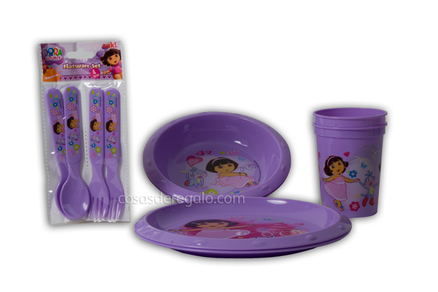 Set para la comida Dora la Exploradora