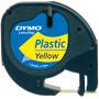 Recambio cinta LETRATAG  de plástico duradera apta para uso interior