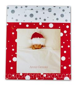 Bolsa de Navidad Bebe con gorrito de Anne Geddes