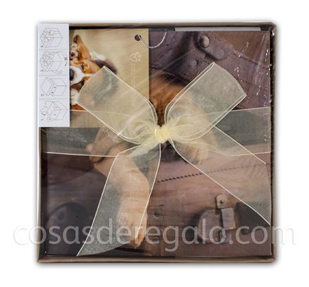Caja L rachaelhale 17x17x17cm Perros