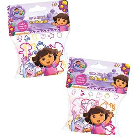 Bolsa con 12 pulseras surtidas forma Dora la Exploradora
