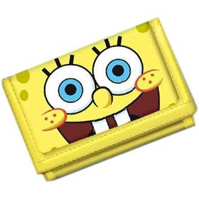 Cartera billetera amarilla amigos Bob Esponja