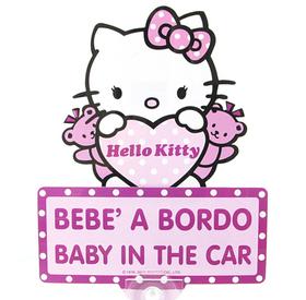Mensaje de Bebe a bordo para el coche con balanceo