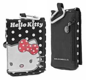 Estuche multifunción Hello Kitty de color Negro