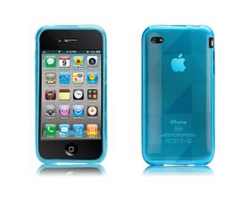 Funda Gelli azul iPhone 4