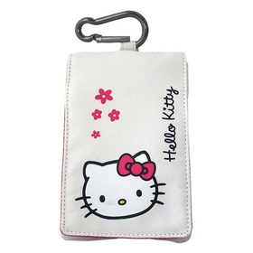 Funda Hello Kitty solapa blanca 110X65mm