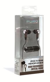 Auricular estéreo negro crystal sound (Jack 3, 5mm)