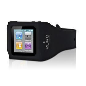 Funda muñequera iPod 6 negra silicona