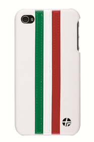 Carcasa Trasera iPhone 4 stripe blanca