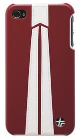 Carcasa trasera iPhone 4 autobahn blanca y roja
