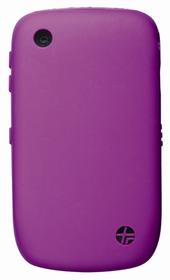 Funda silicona púrpura perfumada Blackberry 8520-8530-9300-9330