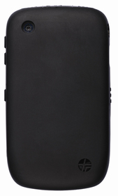 Funda silicona negra perfumada Blackberry 8520-8530-9300-9330