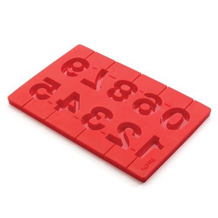 Molde de Piruletas números 3D