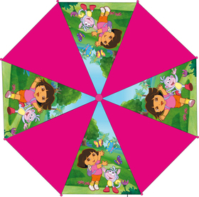 Paraguas automático Dora La Exploradora y sus amigos 48 cm