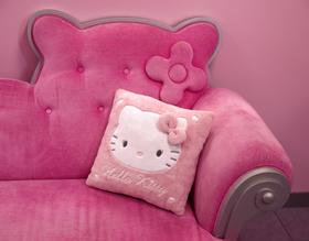 Cojín cuadrado de la Hello Kitty
