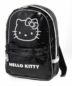 Mochila Hello Kitty negra y blanca