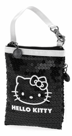 Bolsita Hello Kitty negra y blanca