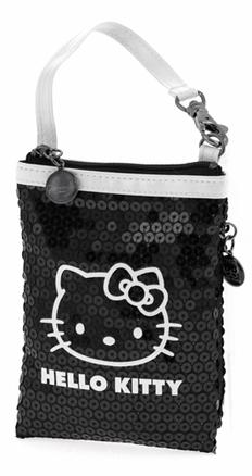 Bolsita Hello Kitty negra y blanca