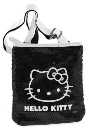 Bolso Hello Kitty negro y blanco