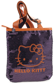 Bolso Hello Kitty lila y naranja