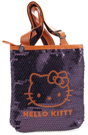 Bolso Hello Kitty lila y naranja