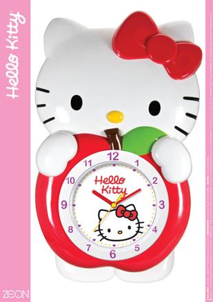 Reloj de pared 3D Hello Kitty