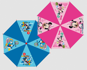 Paraguas automático 48 cm Mickey