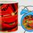 Set de taza y despertador Cars