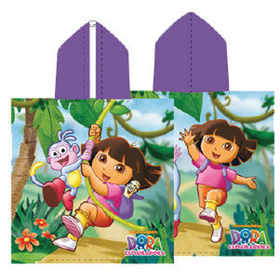 Poncho jungle Dora la Exploradora 60x120cm