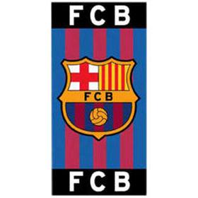Toalla con escudo FC Barcelona 75x150cm